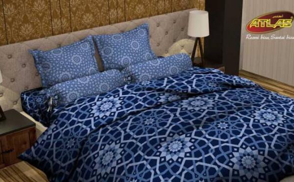 Sarung Atlas Luncurkan Produk Terbaru Sprei Atlas Premium Mengusung Motif Islamic Gothic